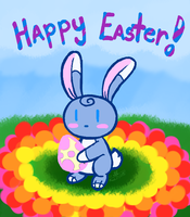 Happy Easter 2016 by HirokoTheHedgehog