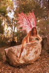 fairy on a rock by 41reasons2