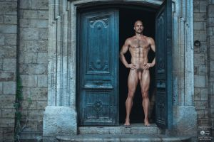 Tony - Open The Door Iray 2015 by Alexlo