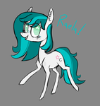 Sketch Commission: Raela by JellyBeanBullet