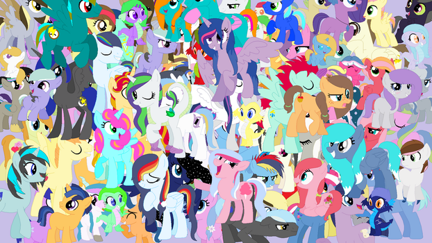 Friendship is Enchantment Wallpaper by Pegasista505