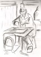 Cafe drawings 34 by Adele-Waldrom