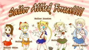 APH : Sailor Allied Forces by H2O-kun