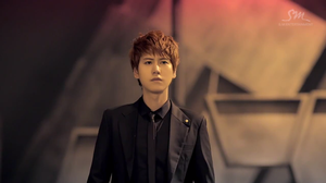 Kyuhyun SFS black suit *0* by MidnightMadness11