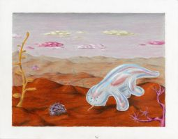 Jelly Gecko of Corot-7b Color by Poofiemus