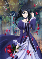 Rukia style elegance by Narusailor