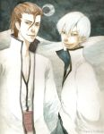 C.Bleach: Aizen x Gin by feyuca