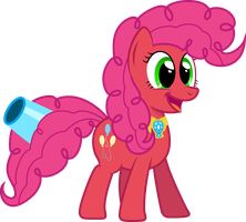 Super Pinkie Pie -  Unbridled Laughter by GeoNine