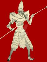Pure White Guard by InkArtWriter