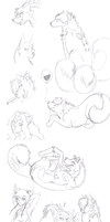 10 Sketches by mirzers