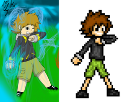 Sprite - Steve Thunder - Reproduction 1 by BastienLink
