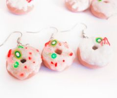 Fruity Donut Earrings by MariaKoch