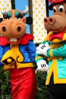 Clarabelle and Horace by DisneyLizzi