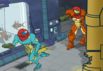 Metroid Fusion Tribute by BLARGEN69