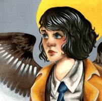 Female Castiel - SPN by inu-steakcy