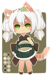 [OPEN]  Sushi Kitty Adopt by WanNyan