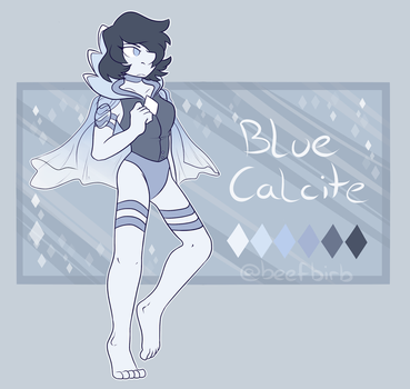 Blue Calcite Ref by BeefBirb
