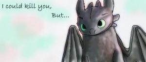 Toothless... Duh by BlackGryph0n