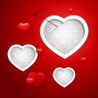 Valentine-Vector-Red-Background by vectorbackgrounds
