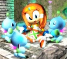 Tikal's Chao Garden by SpringsTS