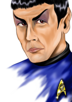 Science Officer Spock by Phoenix-Cry