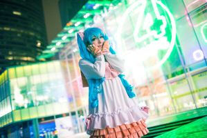 Lots of Laugh - Hatsune Miku by Pichu-no-Sekai