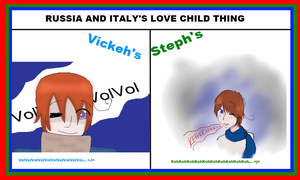 Russia Italy Love Child: Van by VickVicka