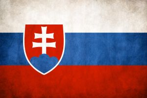 Slovakia Grungy Flag by think0