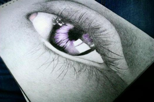 Eyedrawing by GlisteningAngle