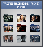 TV Series Folder Icons - Pack 37 by DYIDDO