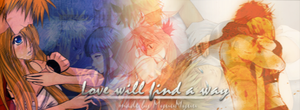 'Love will find a way' banner by MyuuMyuu-chan