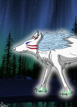 Deity of the Wolves by DireDragoness