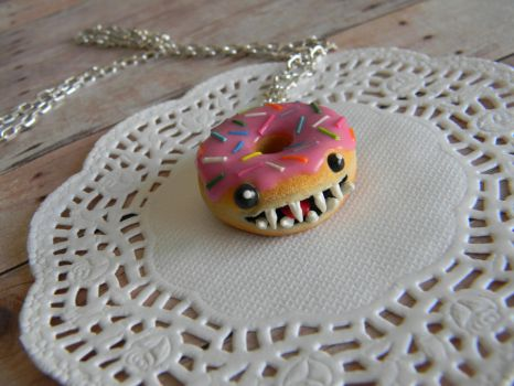 Homer The Monster Dounut-Pink Version by ThePetiteShop