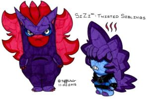 SiZi Twisted Siblings 2 by trinityweiss