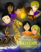 The Mark of Athena - Crew of the Argo II by arcane-enigma