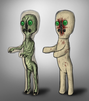 Inside SCP-173 by half-rose