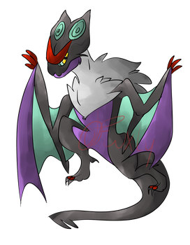 Noivern by DragamiArt