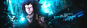 Gajeel Signature - Cold City by GreenMotion
