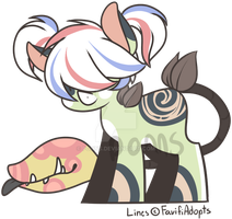 Plant Pony base Test aucition by Ponns