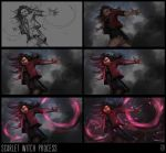 Scarlet Witch Process by alben