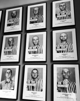 Auschwitz Prisoners by DistortedSmile