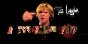 Tate Langdon by tashajoe
