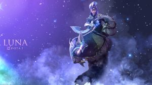 Luna - The Moon Rider / DOTA 2 by neonkiler99