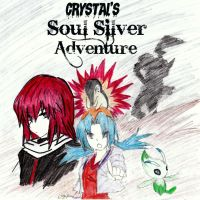 Crystal's Soul Silver Adventure Nuzlocke Cover by Menoaske