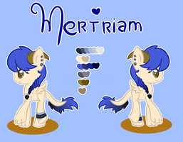 Reference Sheet Mertriam by SweetHearthMlp