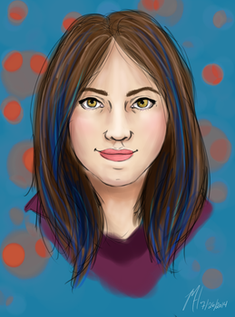 Taintia Portrait by differentoctober
