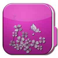 Droid Folder Floral 01 by fandvd