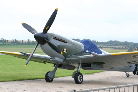 spitfire mk XV1 rolling out by Sceptre63