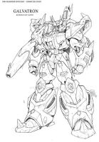 IDW Galvatron redesign by GuidoGuidi