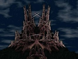 Fractal Castle by tsmarcus